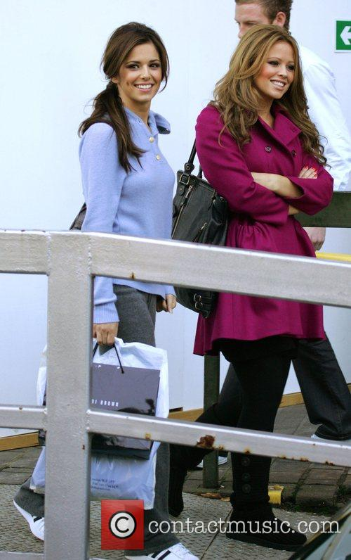 Cheryl Cole, Kimberley Walsh, South Bank London