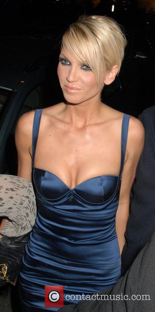 Of Girls Aloud leaving Kitts nightclub in high...