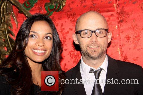 Rosario Dawson and Moby 5