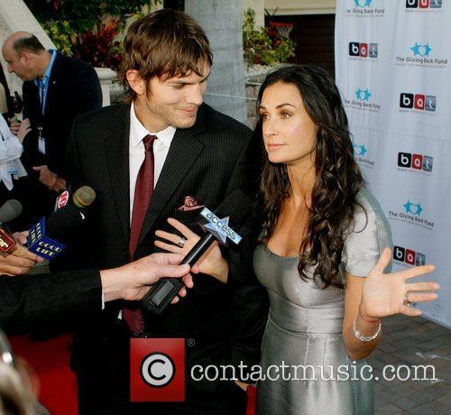 Ashton Kutcher and Demi Moore 9