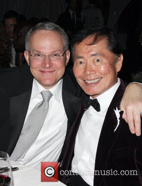 Brad Altman, George Takei 20th Annual GLAAD Media...
