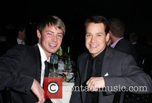 TR Knight, Mark Cornelsen 20th Annual GLAAD Media...