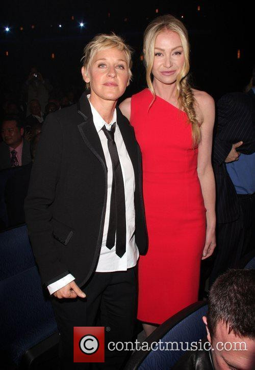 Portia de Rossi and Ellen DeGeneres The 20th...