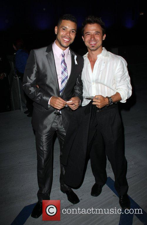 Wilson Cruz and guest The 20th Annual GLAAD...