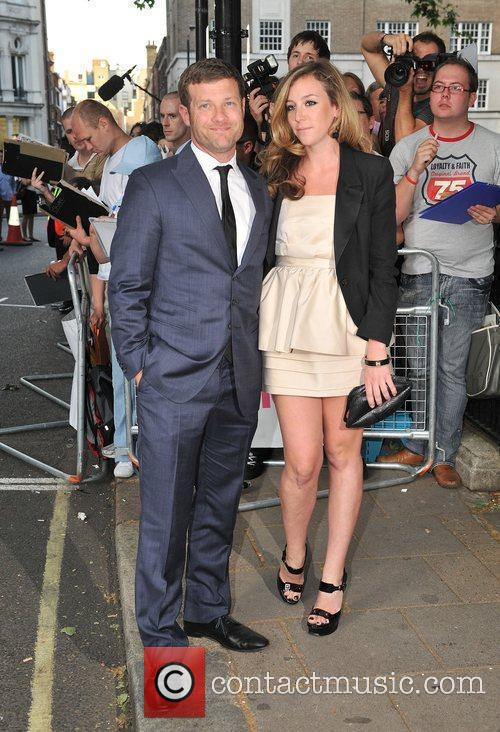 Dermot O'leary With His Wife Jane 3