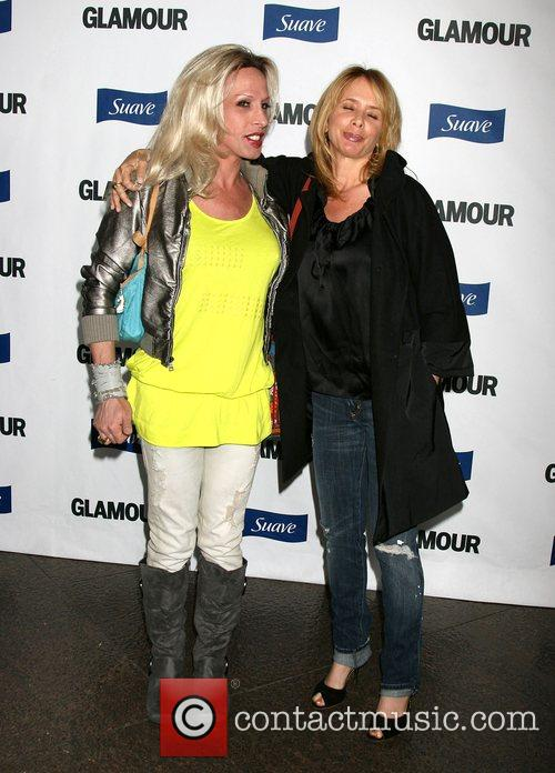 Alexis Arquette and Rosanna Arquette The 'Glamour Reel...