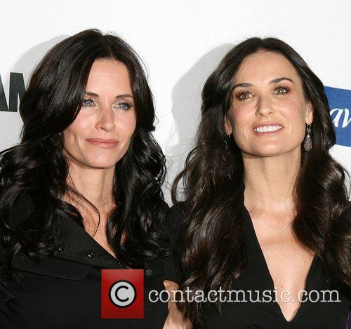 Courteney Cox and Demi Moore 5