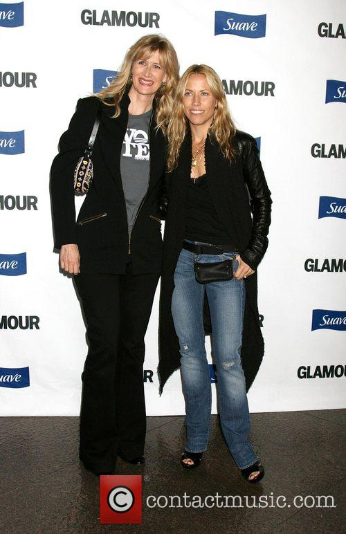 Laura Dern and Sheryl Crow The 'Glamour Reel...