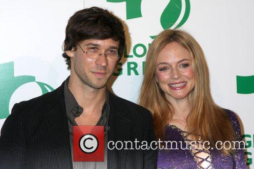Heather Graham and Guest Global Green USA's 6th...