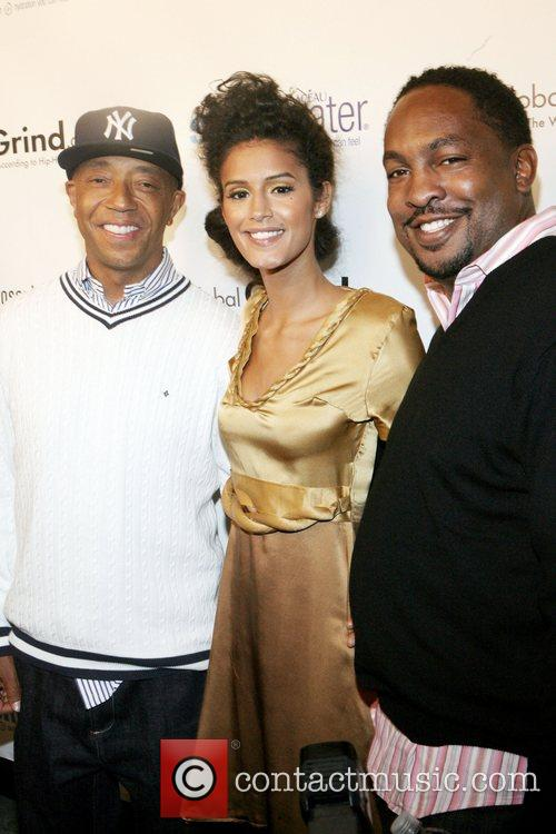 Russell Simmons, Jasalene Gonzales and Navarrow Wright 3