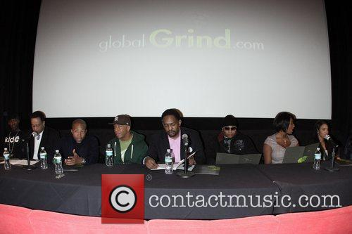 Dj Whoo Kid, Kevin Liles, Ll Cool J and Russell Simmons 3