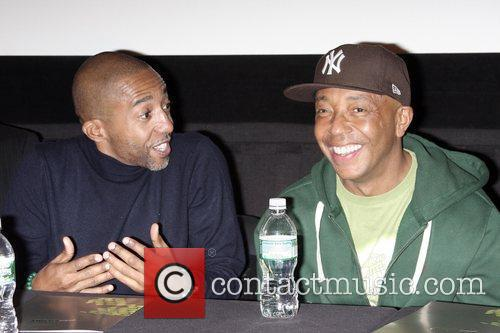 Kevin Liles and Russell Simmons 6