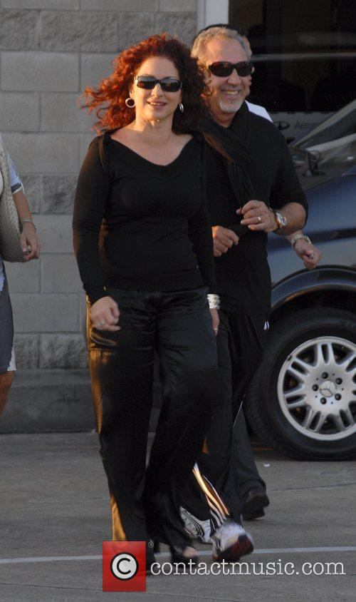 Gloria Estefan and Emilio Estefan Arriving At Jorge Newbery Airport In A Flight From Uruguay 11