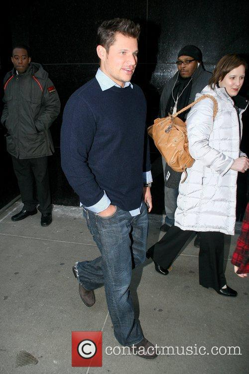 Nick Lachey outside ABC's 'Good Morning America' in...
