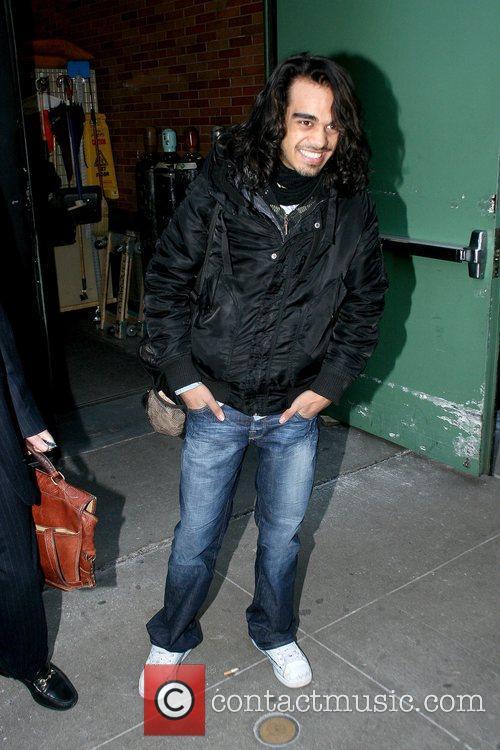 Sanjaya Malakar outside ABC's 'Good Morning America' in...