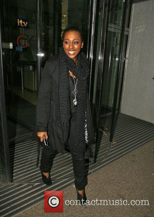 Outside the 'GMTV' studios the day before the...