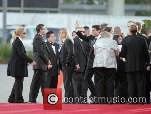 66th Annual Golden Globe awards 2008 - Outside...