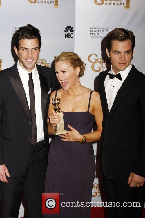 Zachary Quinto and Anna Paquin 6