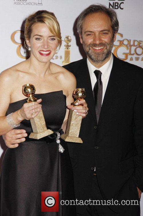 Kate Winslet and Sam Mendes 4