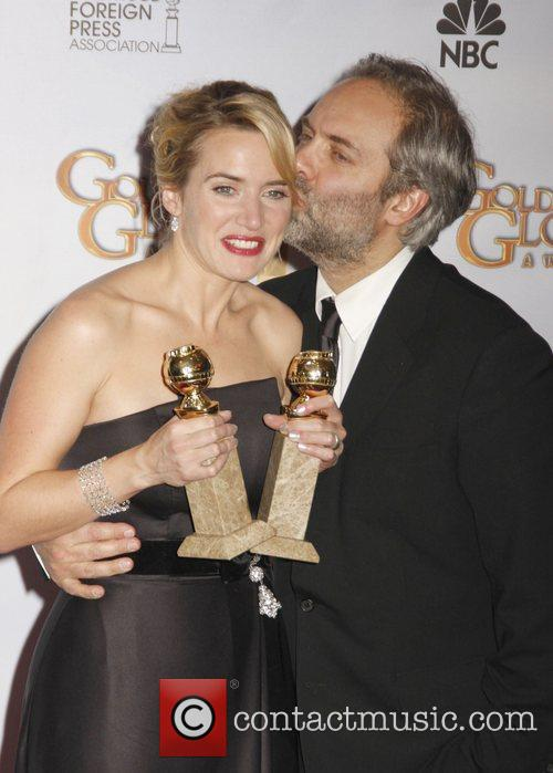 Kate Winslet and Sam Mendes 6
