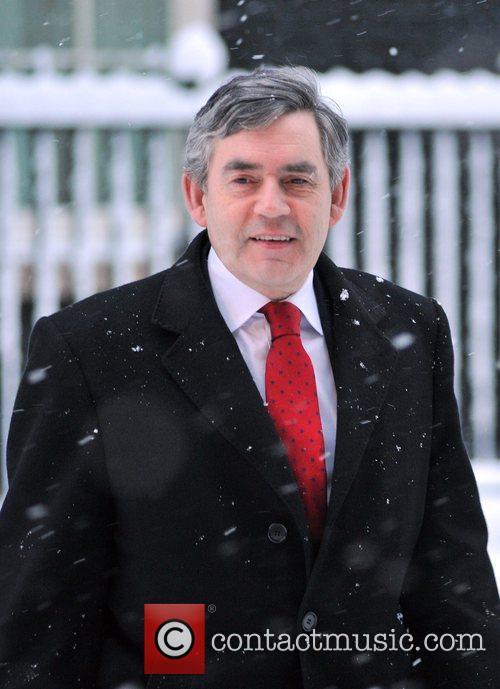 Gordon Brown Chinese PM Wen Jiabao meets British...