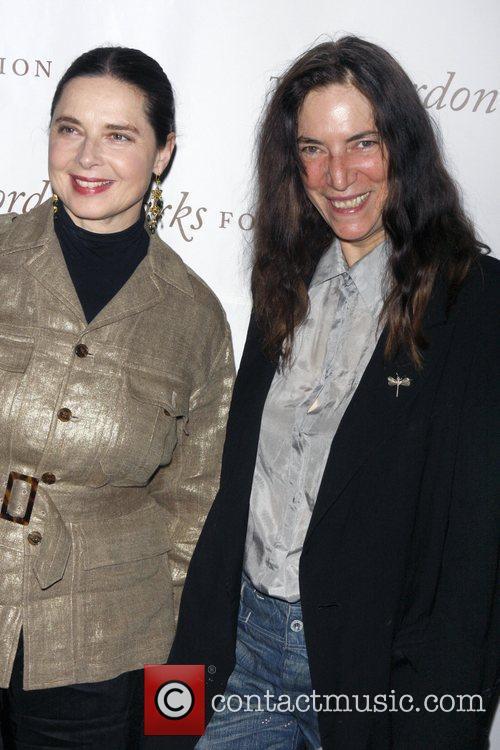 Isabella Rossellini and Liya Kebede 3