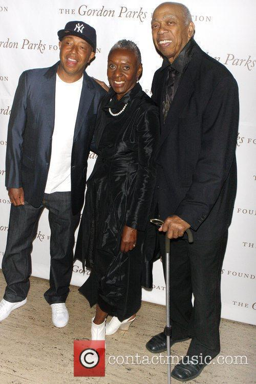 Russell Simmons, Bethann Hardison and Geoffrey Holder 3