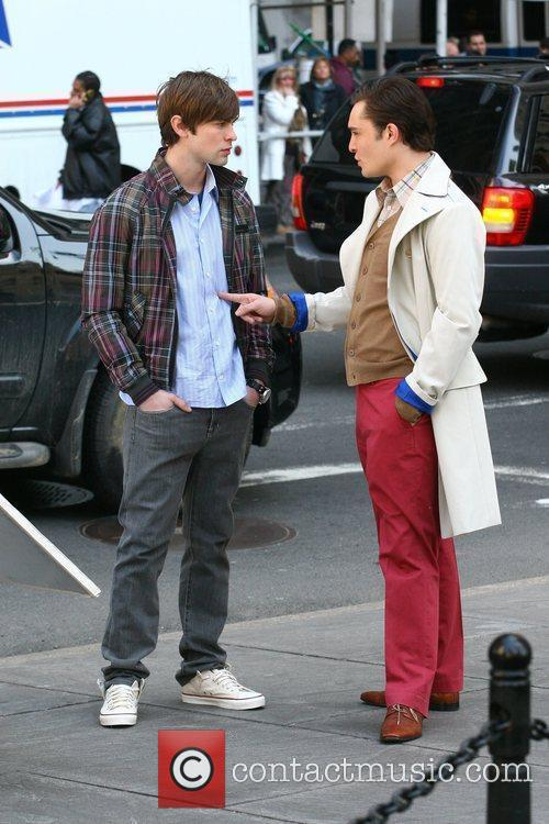 Chace Crawford and Ed Westwick 4