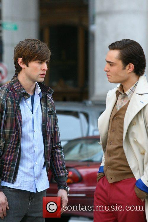 Chace Crawford and Ed Westwick 1