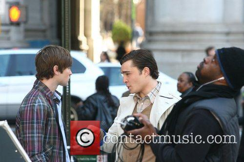 Chace Crawford and Ed Westwick 7