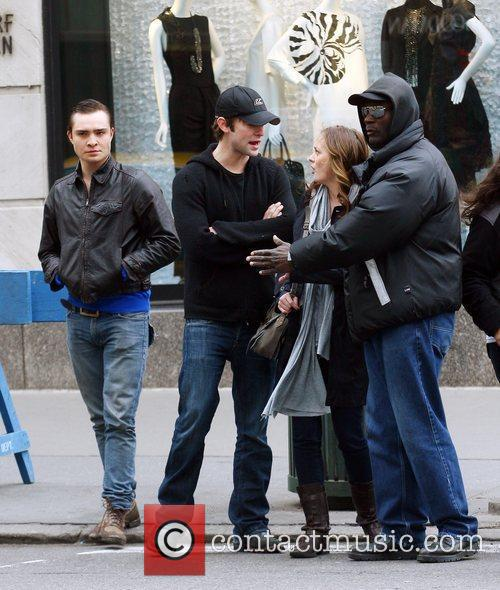 Ed Westwick, Chace Crawford and Leighton Meester 3