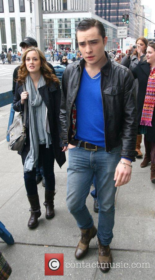 Leighton Meester and Ed Westwick 5