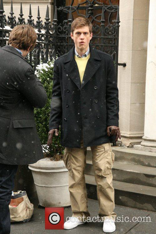 On the set of 'Gossip Girl' filming in...