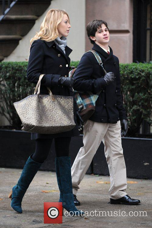 Blake Lively and Connor Paolo 4