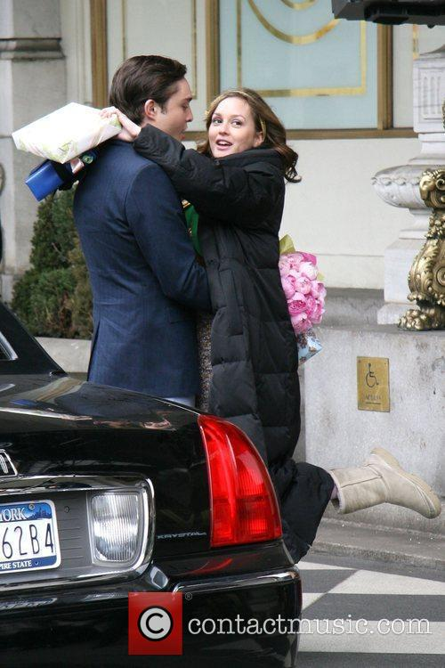 Leighton Meester and Ed Westwick 11