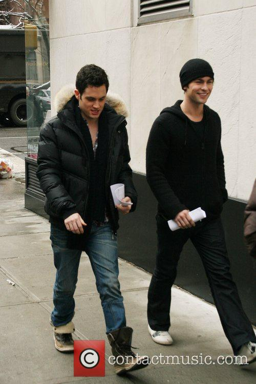 Penn Badgley and Chace Crawford 6
