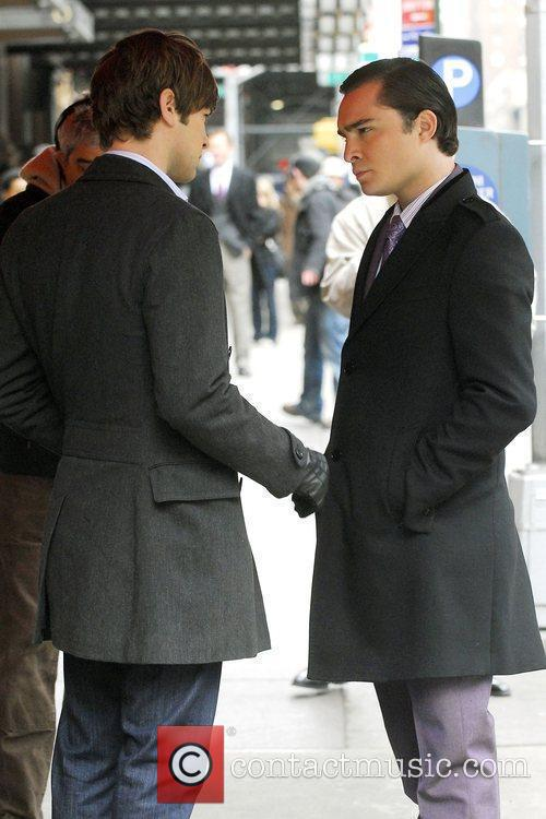 Chace Crawford and Ed Westwick 2