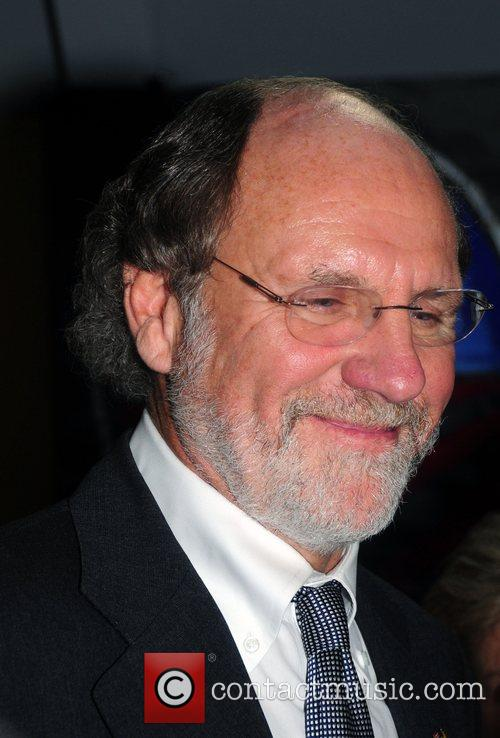 Governor John Corzine at a press conference discussing...