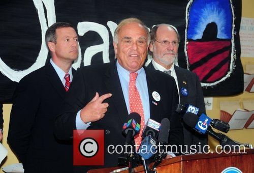 Martin O'Malley, Ed Rendell and John Corzine at...