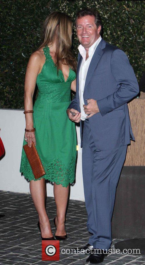Celia Walden, Piers Morgan The GQ Awards held...