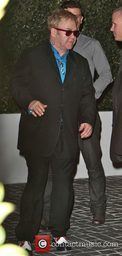 Elton John The GQ Awards held at Cecconi's...