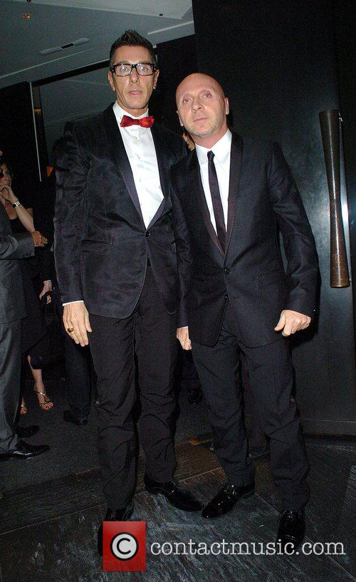 Domenico Dolce and Stefano Gabbana at the GQ...