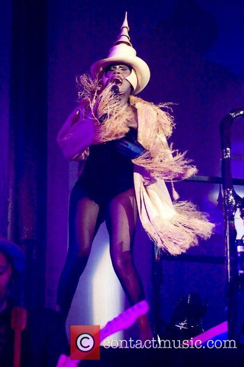 Grace Jones performs live at Camden's Roundhouse