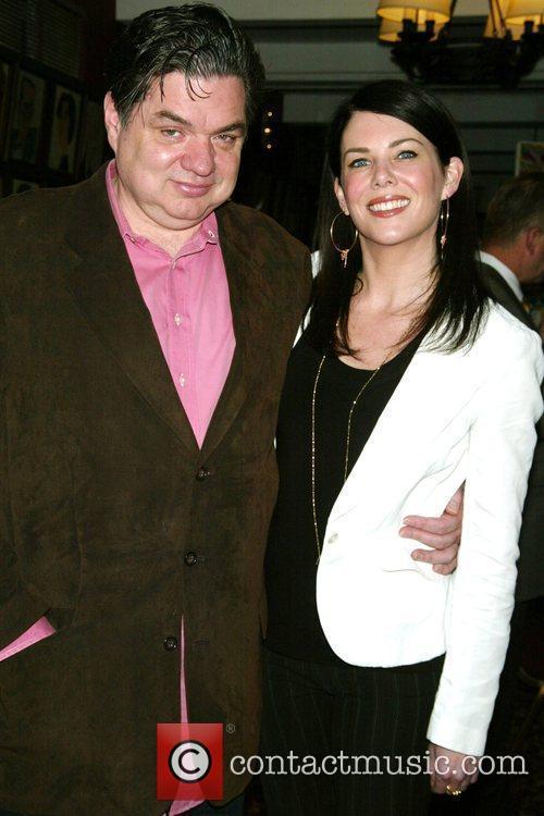 Lauren Graham and Oliver Platt Unveiling of the...