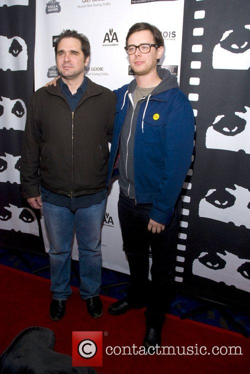 Colin Hanks and Sean McGinly arrive to the...
