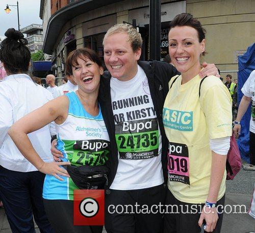 Angela Lonsdale, Antony Cotton and Suranne Jones Bupa...