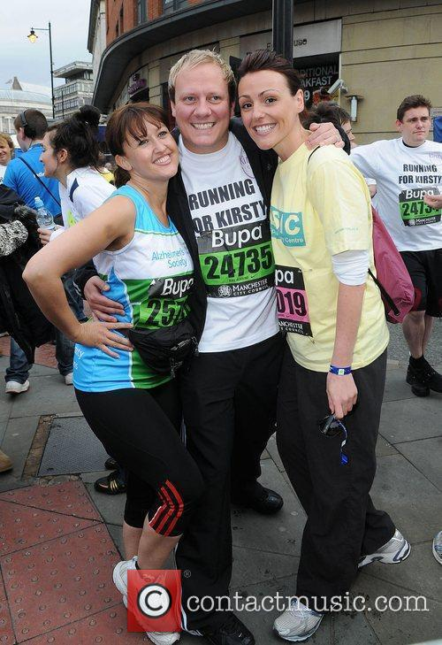 Angela Lonsdale, Anthony Cotton and Suranne Jones Bupa...