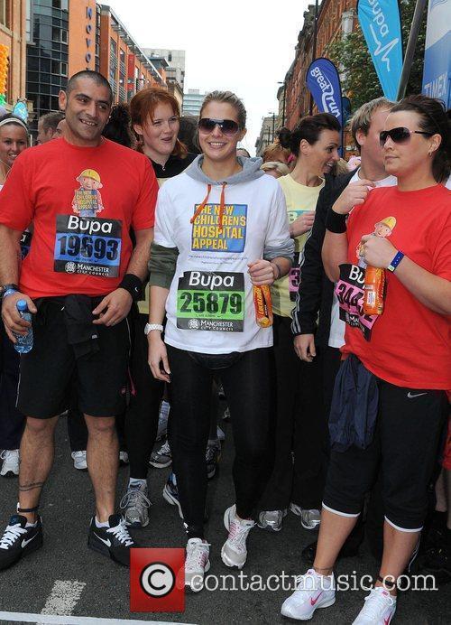 Gemma Atkinson Bupa Great Manchester Run Manchester, England