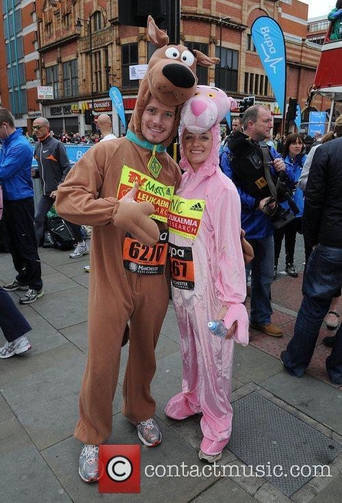 Matthew Wolfenden and Nicola Wheeler Bupa Great Manchester...