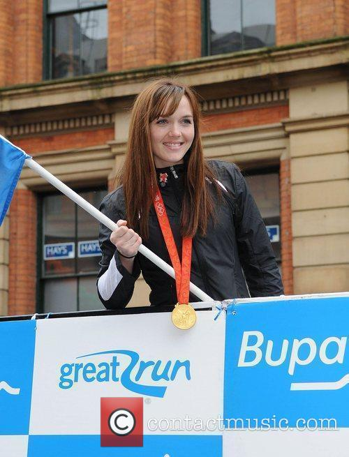Olympic Cyclist Victoria Pendleton  Bupa Great Manchester...